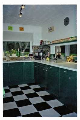 This was the existing kitchen