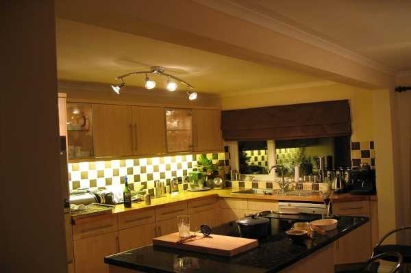This is the finished kitchen.