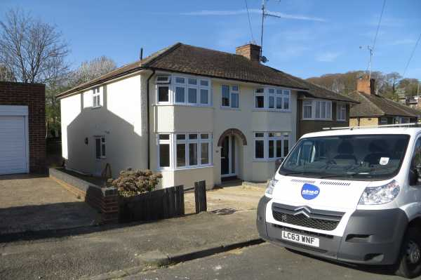 Double storey extension in Caversham -
