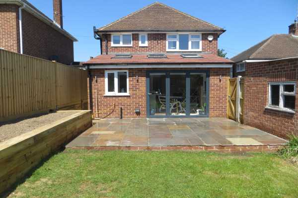 Single storey rear extension in Caversham & Landscaping -